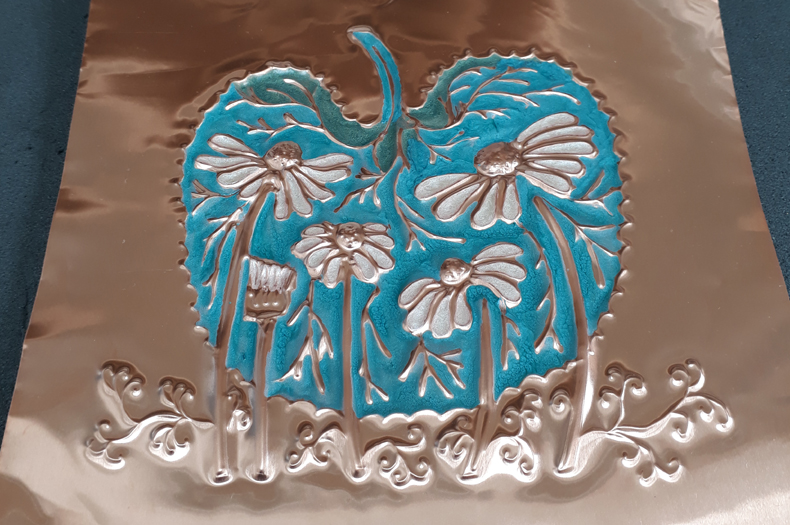 Curious Copper Embossing4